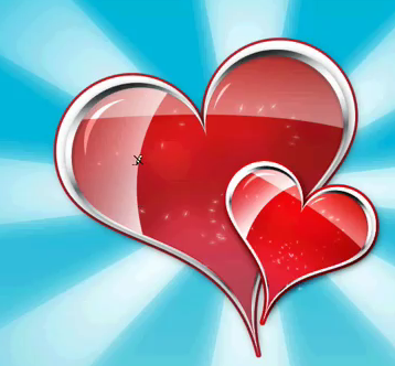 Learn how to create these awesome Heart Icons